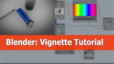 blender tutorial youtube com blender vignette node editor tutorial youtube