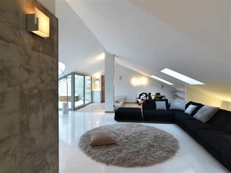 attic apartment attic apartment design italy by studio damilano