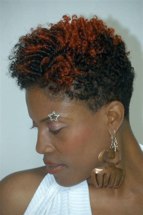 short natural haircuts and color 17 best images about a splash of color afro hair on