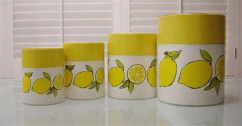 Pink Kitchen Canister Set lemons tea room pinterest lemon canister sets
