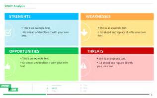 powerpoint swot analysis template free boost your presentation with this swot analysis ppt