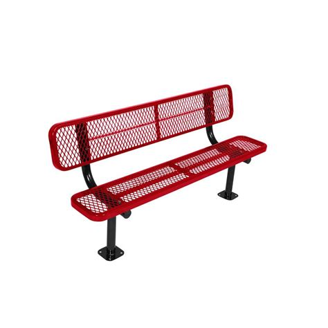 park benches home depot metal park benches park furnishings the home depot