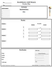 Baseball Practice Plan Template by Baseball Practice Plan Template Ebook Database