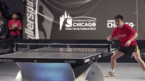 killerspin chicago international table tennis festival