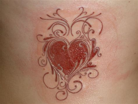 cool heart tattoo designs cool zone designs gallery