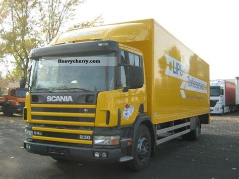 scania p 94 230 2003 box truck photo and specs
