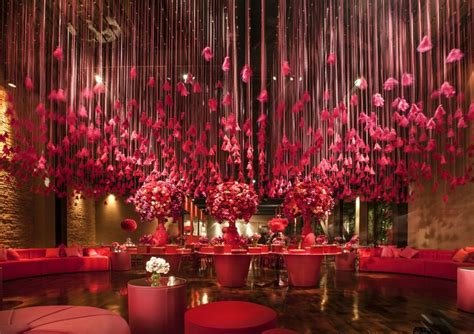 Feathers Ceiling by And Pink Decoration With Feathers Falling From The