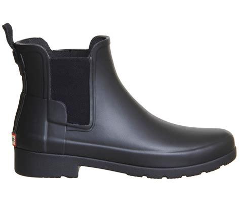 matte black boots womens original refined chelsea black matte boots