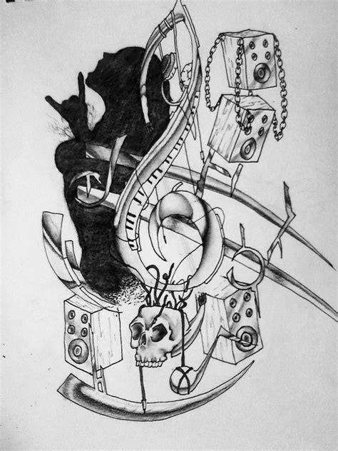 music art tattoo designs todds by massmurdurah on deviantart