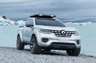 new car truck renault alaskan production model leaks ahead of reveal
