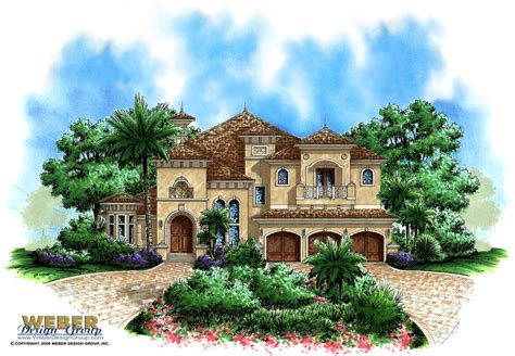 tuscan house plan ii house plan weber design
