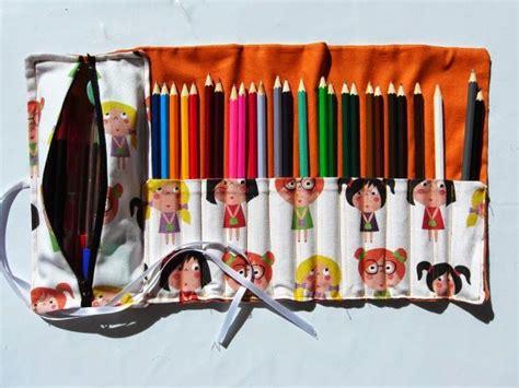 tutorial neceser cartuchera desplegable bolsos necesers m 225 s de 25 ideas incre 237 bles sobre porta crayones de tela en