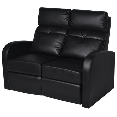 poltrone home cinema articoli per divano home cinema a due posti reclinabile in