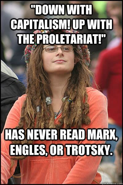 Who Is College Liberal Meme - college liberal memes quickmeme
