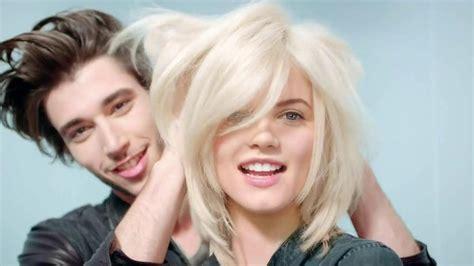 garnier hair colour models fructis shoo commercial models hairstylegalleries com