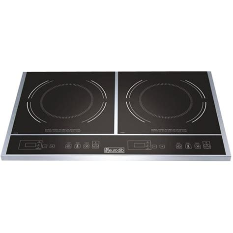 induction cooker dual eurodib induction cooker 23 1 2 x 14 1 8 x 2 1 2 inch 1 each the cook tops