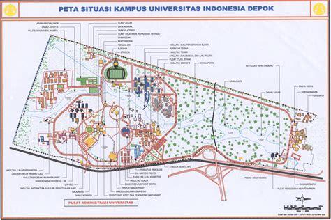 universitas indonesia map