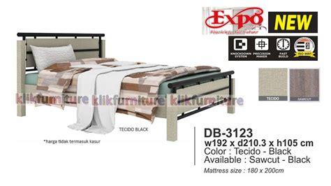 Ranjang Besi Tempa Success db 3123 expo ranjang minimalis diskon promosi agen