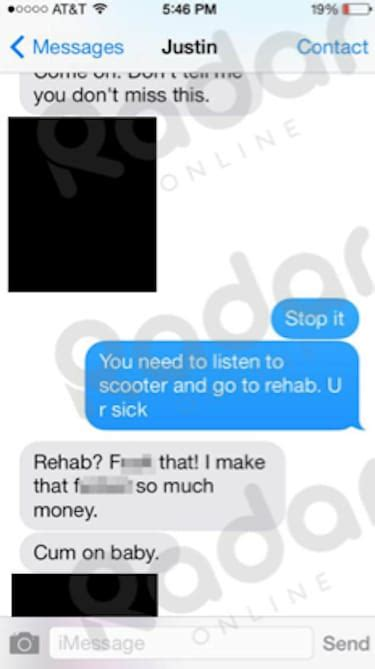 justin bieber be alright text preklad justin bieber texts to selena gomez the hollywood gossip