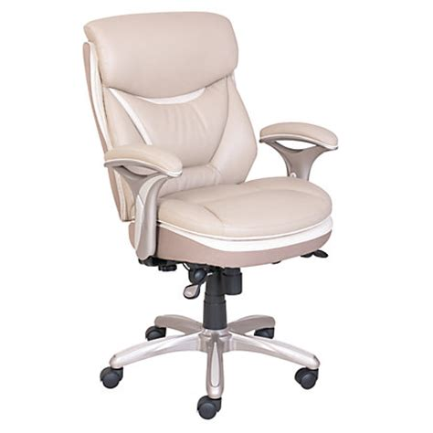 Office Depot Chairs Serta Smart Layers Verona Manager Chair Ivorychagne By