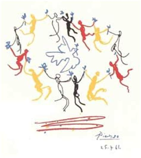 picasso paintings peace the dove and peace on