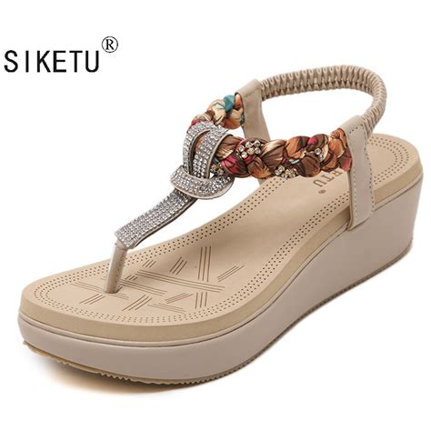 Summer Shoes by Siketu 2017 New National Summer Sandals S Bohemia