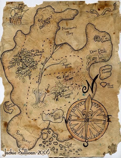 pirate treasure map treasure map project by jackieocean materials used plain