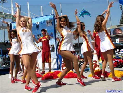 swim with mike usc cheerleaders 2016 the splashed and the serious heaven the trojan haters club