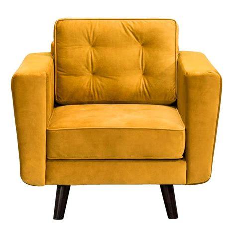 fauteuils stoelen fauteuil bristol stof geel