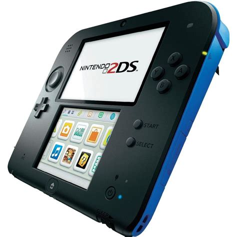 console nintendo 2ds nintendo 2ds console black blue from conrad