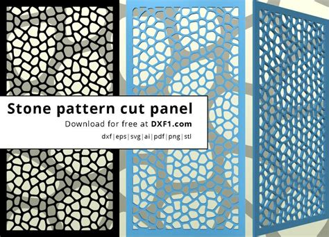 pattern cutting download stones pattern plasma cut files free dxf files free cad