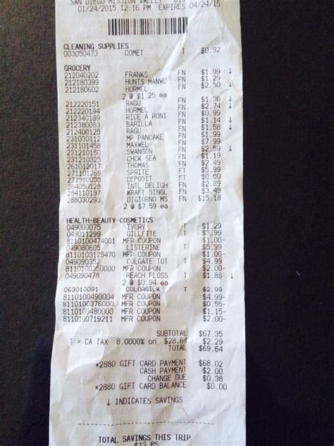 target receipt template how i got 80 in items at target for 62 cents