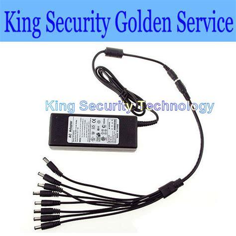 Adaptor 12v 5a Buat Dvr Atau Cctv dvr 8 split power cable dc 12v 5a power supply adapter for cctv security free shipping