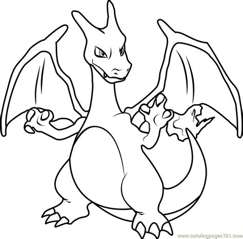 charizard coloring pages coloring pages charizard evolves coloring pages
