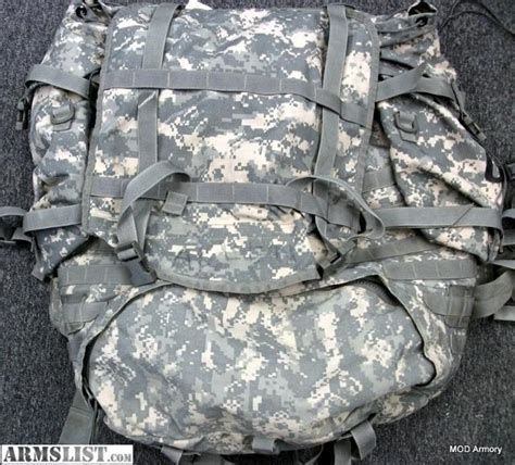 army rucksack weight armslist for sale usgi acu molle ii complete large
