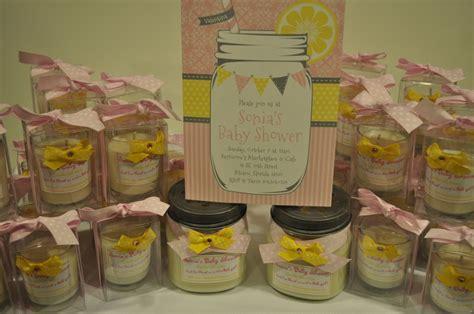 Lemonade For Baby Shower by Pink Lemonade Baby Shower Favors Baby Shower Baptism