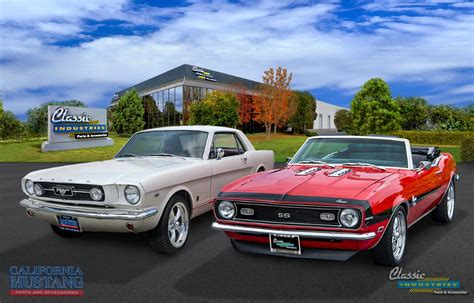mustang parts california california mustang joins the fold classic industries news
