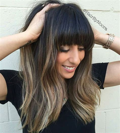 images of ombre hairstyles with fringes 17 best images about hair inspiration on pinterest