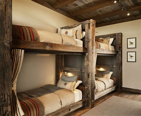 rustic loft bed 25 best ideas about cabin bunk beds on pinterest rustic bunk beds bunkhouse and
