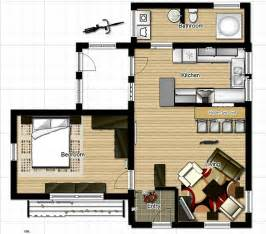 Single Level Tiny House by Small One Bedroom House Floor Plans Inside Tiny Houses
