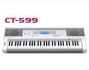 Keyboard Casio Second casio keyboard ct 599 second