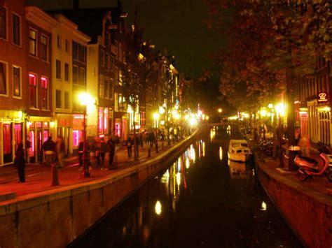 light district amsterdam photo