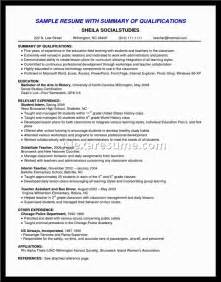 Career Change Objective Statement Career Summary Examples For Resume Alexa Resume