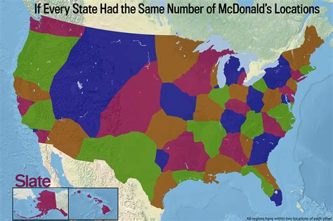 mcdonalds map usa dunkin donuts map what america would look like if our