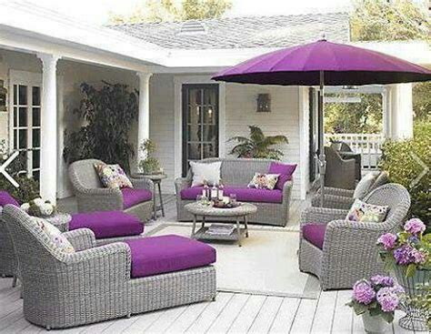 purple gray patio furniture patio purple