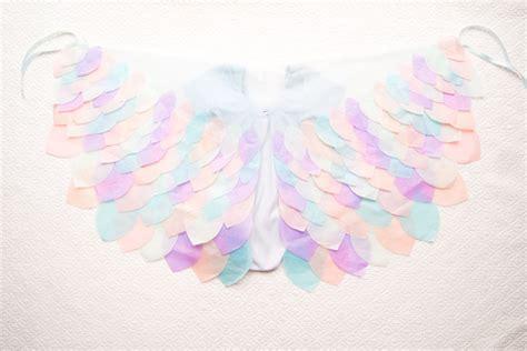 alas con papel crep hecho en casa 191 c 243 mo hacer alas para un difraz