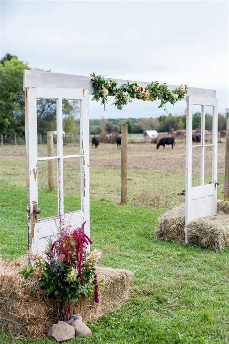 Wedding Arch Made From Doors by Best 25 Country Wedding Arches Ideas On