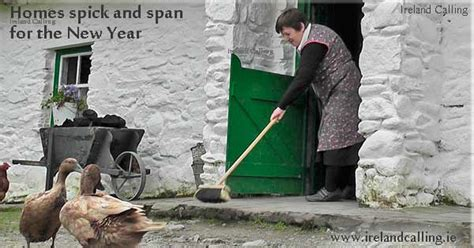 new year traditions cleaning new year traditions ireland calling
