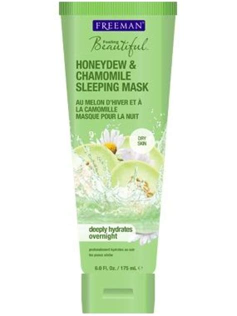 Freeman Feeling Beautiful Mask Masker freeman feeling beautiful honeydew chamomile sleeping