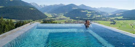 Stand Alone Bathtubs Hotel Hubertus Glass Bottomed Infinity Pool
